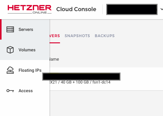 Mounting a storage drive in hetzener cloud for rancher